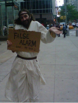 Funny photos - False Alarm