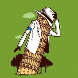 Funny Wallpaper - Michael Jackson in italia