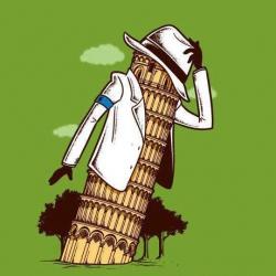 Funny Wallpaper - Michael Jackson in italia