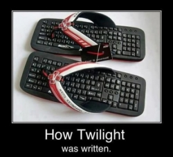 Funny photos - Keyboard sandals