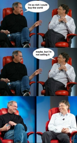 Funny photos - Steve &  Bill