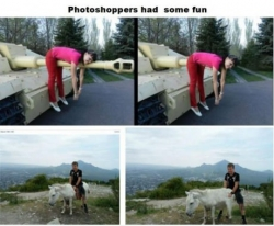 Funny photos - Photoshoppers had some fun