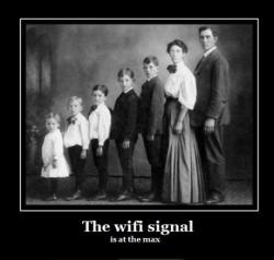 Funny photos - Wi-Fi signal