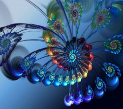 3D and Digital art Wallpaper - Colorful Art