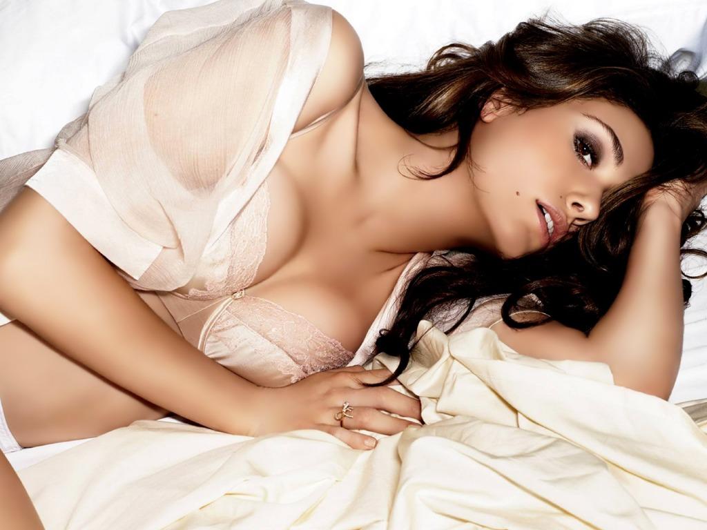 Emmy Rossum lingerie