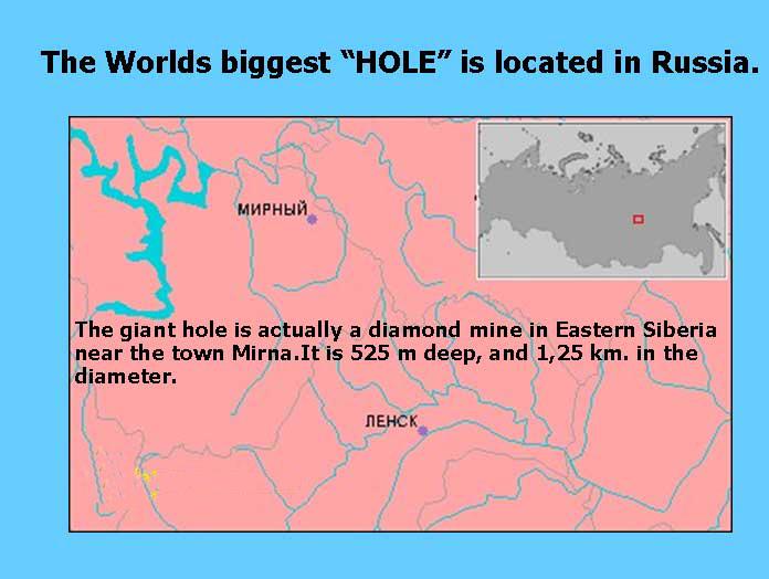 """"""" Hole"""""""