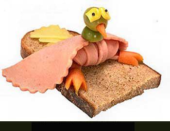 Sandwich bird