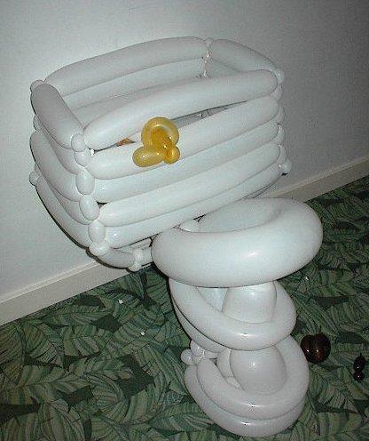 The balloon toilet
