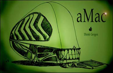 The alien Mac