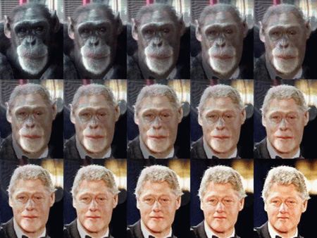 Clinton's evolution
