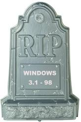 Funny photos - RIP - MS Window