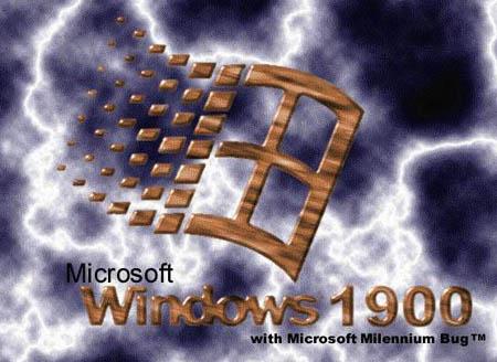 Microsoft window 1900