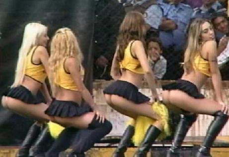 Argentinian cheer leader