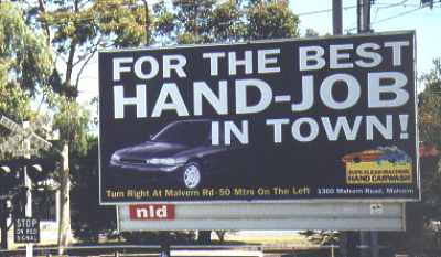 The best hand job