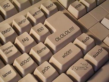 The keyboard for chatter