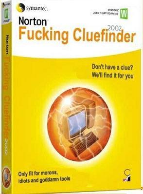 Norton f*cking cluefinder