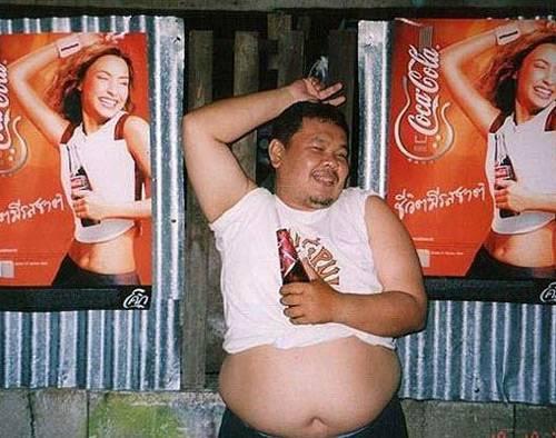 The dude of Coca Cola