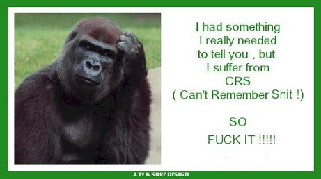 I suffer from CRS
