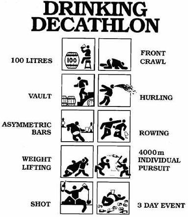 Drinking Decathelon