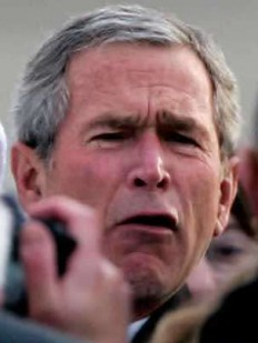 Funny photos - It's another face of Bush