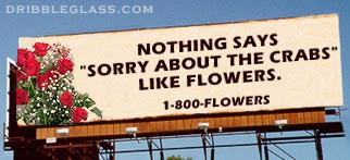 Flower billboard