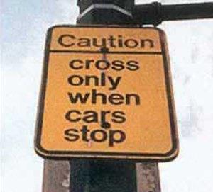 Helpful crossing