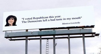 I voted republican