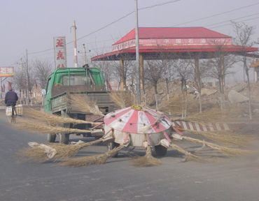 Chinese street sweeper