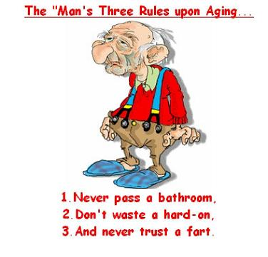 The man's 3 rules