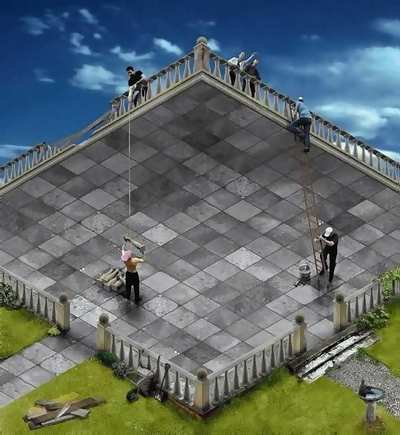 The good optical illusion