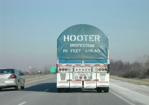 Inspector 70 feet ahead