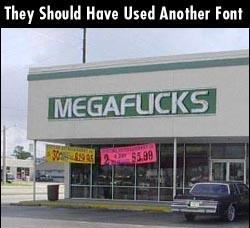 Funny photos - Another font