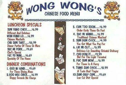 Wong wong's