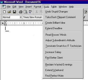 MS word smart tool