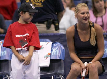 Kournikova's fan