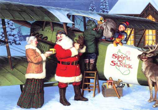 Thank Santa Claus