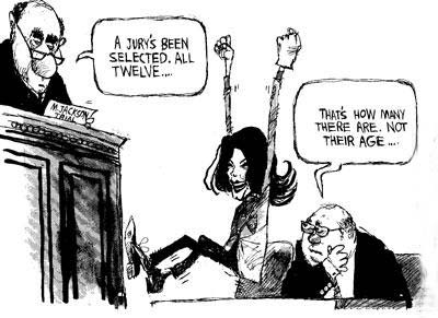 MJ trial