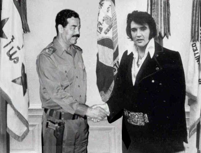 Saddam n Elvis