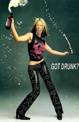 Got drunk