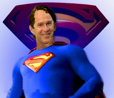 Bush-superman