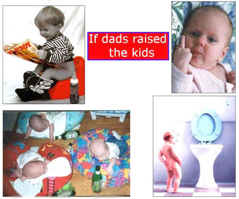If dads raised the kids