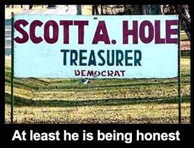 Scott A. Hole treasure