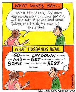 What Hubbys Hear?