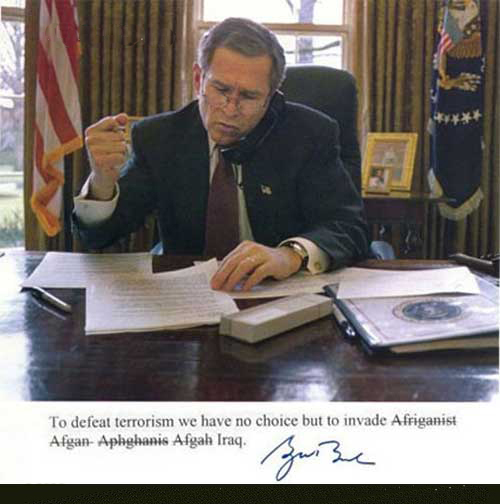 Bush - Iraq