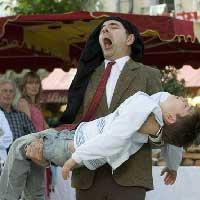 Mr Bean cry