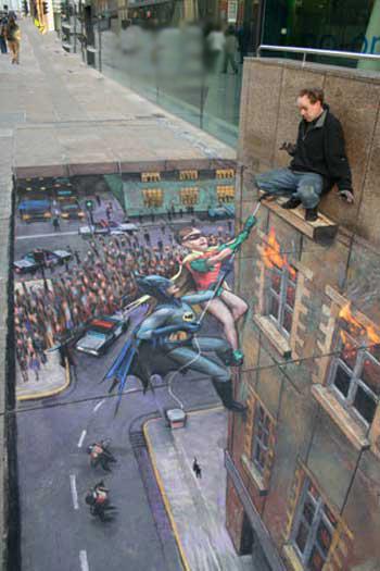 Side walk Art