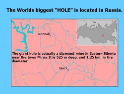 "Funny photos - "" Hole"""
