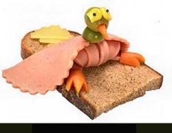 Funny photos - Sandwich bird