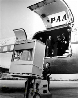 Funny photos - Hard disk in 1956
