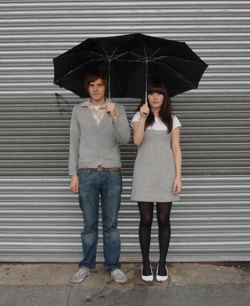 Funny photos - Romantic umbrella